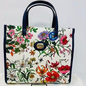 Gucci Canvas Flora Handbag
